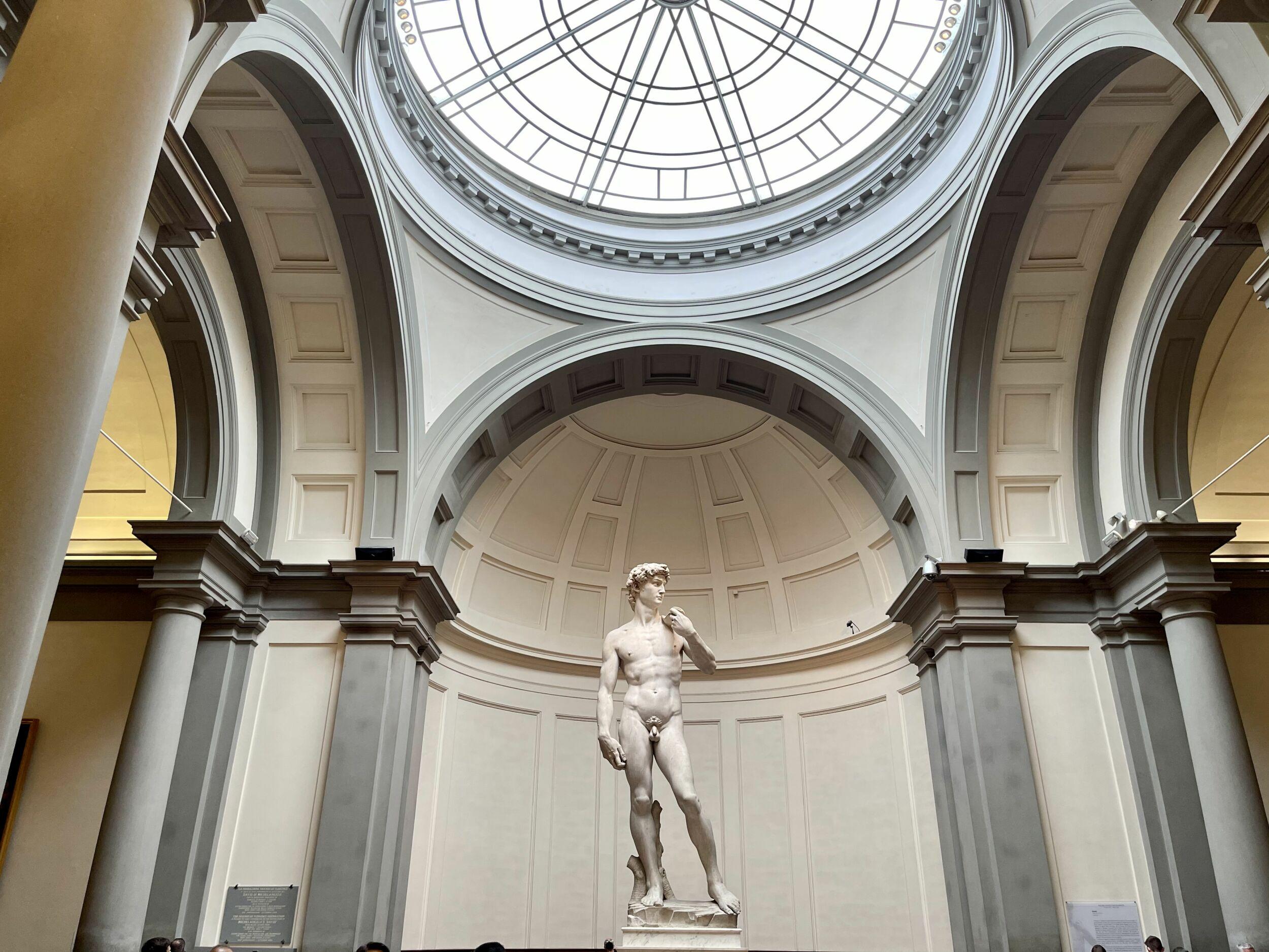 Il David di Michelangelo e Firenze